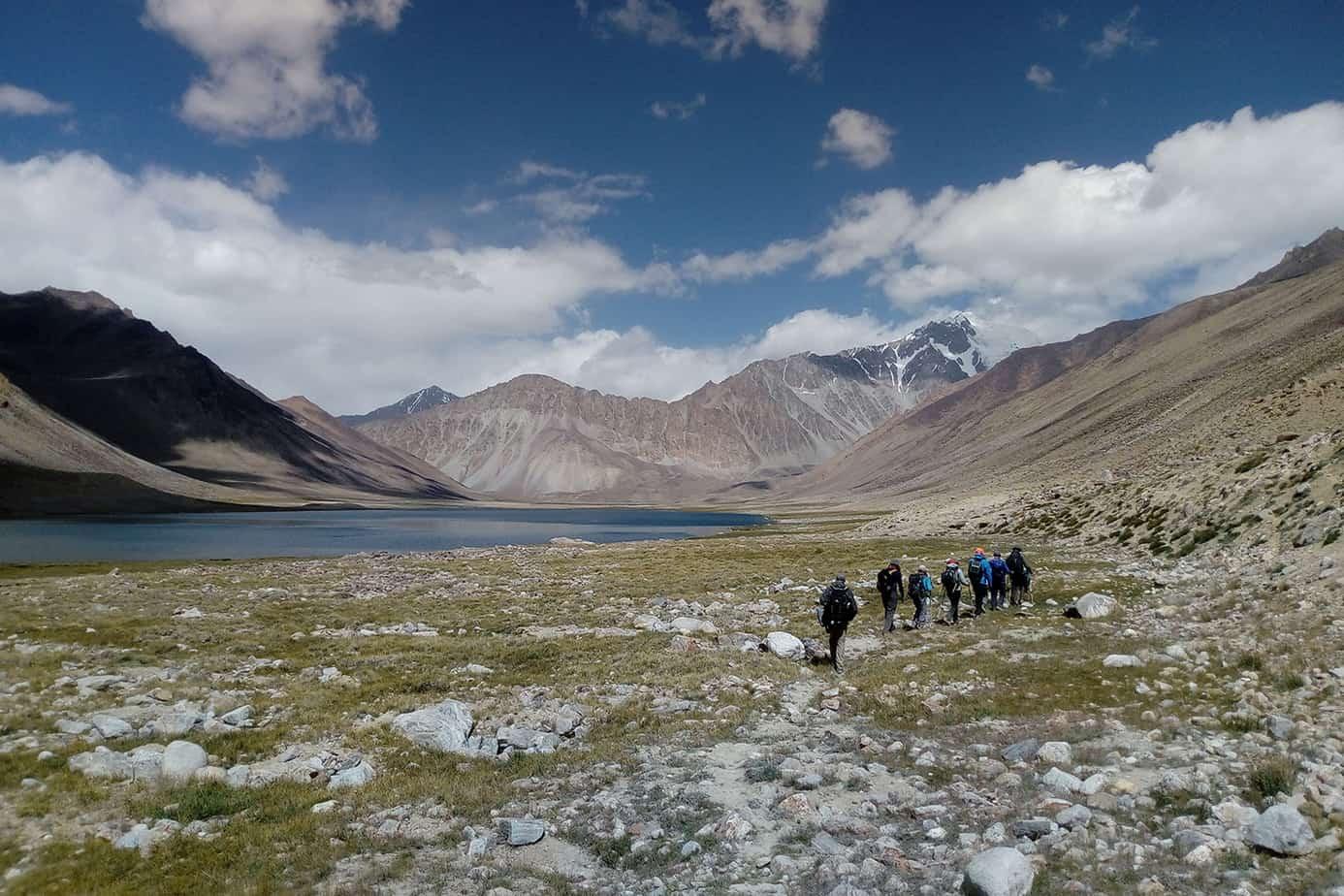 Trekking Tajikistan: Pamir Mountain Lakes