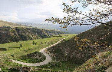 Chechnya-Dagestan border