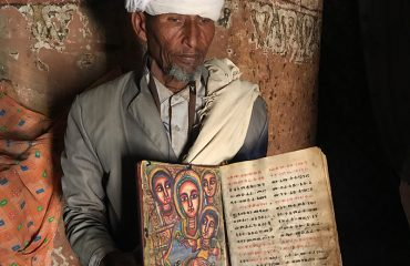 Priest in Rock Hewn Churches of Tigray