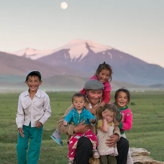 Rural Kazakh life
