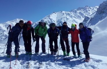 Ski Afghanistan group
