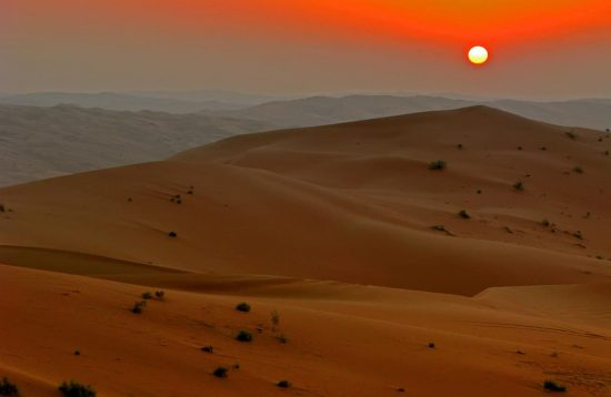 Rub al khalid sunset by Javierblas