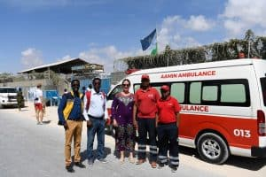 Aamin Ambulance Service, Untamed Borders